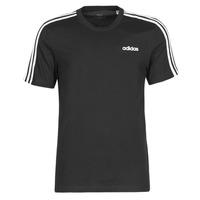 衣服 男士 短袖体恤 adidas Performance 阿迪达斯运动训练 E 3S TEE 黑色