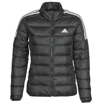 衣服 女士 羽绒服 adidas Performance 阿迪达斯运动训练 W ESS DOWN JKT 黑色