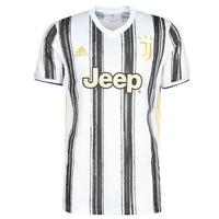 衣服 短袖体恤 adidas Performance 阿迪达斯运动训练 JUVE H JSY 白色 / 黑色