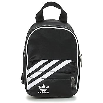 包 女士 双肩包 Adidas Originals 阿迪达斯三叶草 BP MINI 黑色