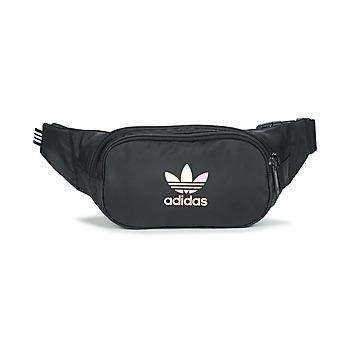 包 腰包 Adidas Originals 阿迪达斯三叶草 ESSENTIAL WAIST 黑色
