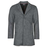 衣服 男士 大衣 Petrol Industry JACKET WOOL 灰色