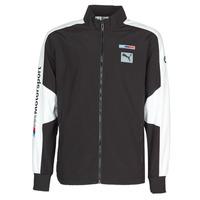 衣服 男士 运动款外套 Puma 彪马 BMW MMS WVN JACKET F 黑色 / 灰色 / 白色
