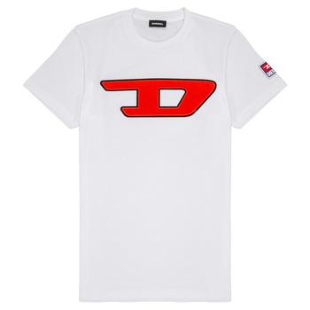 衣服 儿童 短袖体恤 Diesel 迪赛尔 TJUSTDIVISION 白色