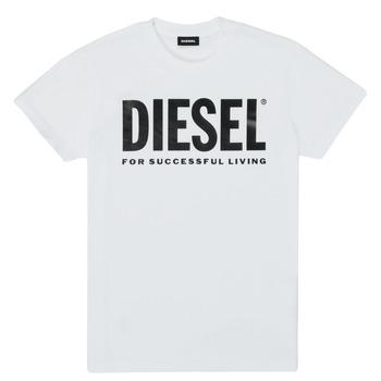 衣服 儿童 短袖体恤 Diesel 迪赛尔 TJUSTLOGO 白色