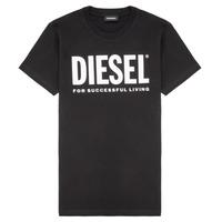 衣服 儿童 短袖体恤 Diesel 迪赛尔 TJUSTLOGO 黑色