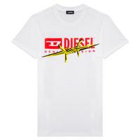 衣服 男孩 短袖体恤 Diesel 迪赛尔 TDIEGOBX2 白色