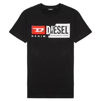 衣服 儿童 短袖体恤 Diesel 迪赛尔 TDIEGOCUTY 黑色