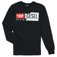 衣服 儿童 长袖T恤 Diesel 迪赛尔 TDIEGOCUTY 黑色