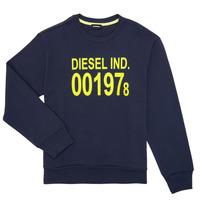 衣服 儿童 卫衣 Diesel 迪赛尔 SGIRKJ3 蓝色