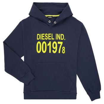 衣服 儿童 卫衣 Diesel 迪赛尔 SGIRKHOOD 蓝色