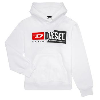 衣服 儿童 卫衣 Diesel 迪赛尔 SGIRKHOODCUTY 白色