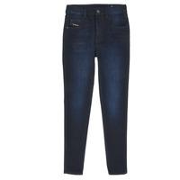衣服 女孩 紧身牛仔裤 Diesel 迪赛尔 D-SLANDY HIGH 蓝色