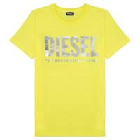 衣服 女孩 短袖体恤 Diesel 迪赛尔 TSILYWX 黄色
