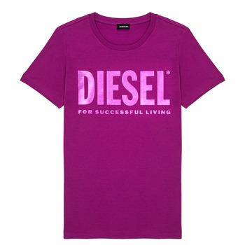 衣服 女孩 短袖体恤 Diesel 迪赛尔 TSILYWX 玫瑰色