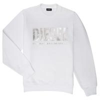 衣服 女孩 卫衣 Diesel 迪赛尔 SANGWX 白色