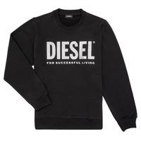 衣服 女孩 卫衣 Diesel 迪赛尔 SANGWX 黑色