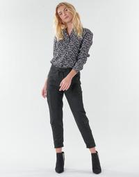 衣服 女士 多口袋裤子 Freeman T.Porter CELINE SILIANO 黑色