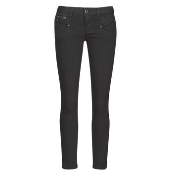 衣服 女士 紧身牛仔裤 Freeman T.Porter ALEXA CROPPED S-SDM 灰色 / Fonce