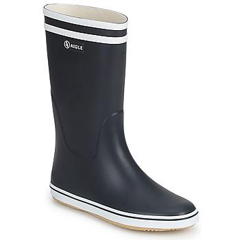 鞋子 女士 雨靴 Aigle MALOUINE 海蓝色 / 白色