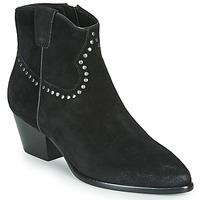 鞋子 女士 短靴 Ash 艾熙 HOUSTON BIS 黑色