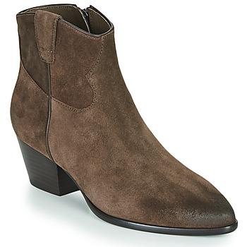 鞋子 女士 短靴 Ash 艾熙 HOUSTON 棕色
