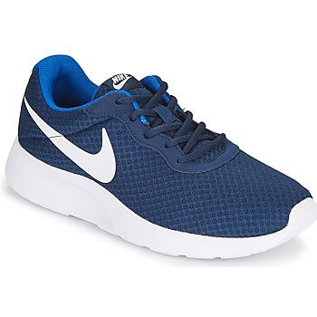 鞋子 男士 球鞋基本款 Nike 耐克 TANJUN 蓝色 / 白色