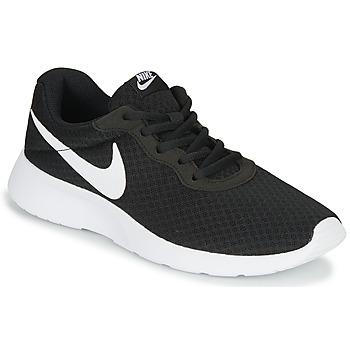 鞋子 女士 球鞋基本款 Nike 耐克 TANJUN 黑色 / 白色