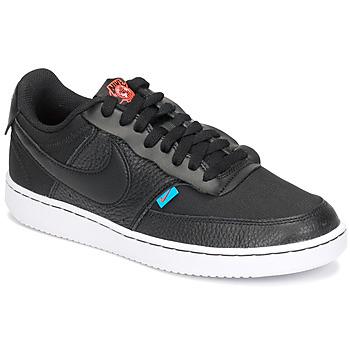 鞋子 女士 球鞋基本款 Nike 耐克 COURT VISION LOW PREM 黑色