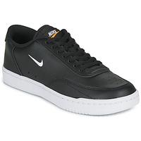 鞋子 女士 球鞋基本款 Nike 耐克 COURT VINTAGE 黑色 / 白色
