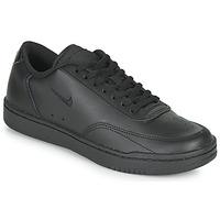 鞋子 女士 球鞋基本款 Nike 耐克 COURT VINTAGE 黑色