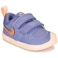 鞋子 女孩 球鞋基本款 Nike 耐克 PICO 5 TD 紫罗兰 / 玫瑰色