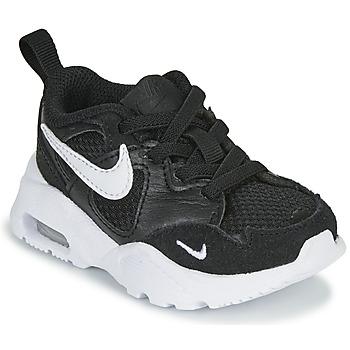 鞋子 儿童 球鞋基本款 Nike 耐克 AIR MAX FUSION TD 黑色 / 白色