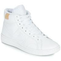 鞋子 女士 球鞋基本款 Nike 耐克 COURT ROYALE 2 MID 白色