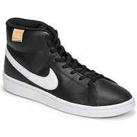 鞋子 男士 球鞋基本款 Nike 耐克 COURT ROYALE 2 MID 黑色 / 白色