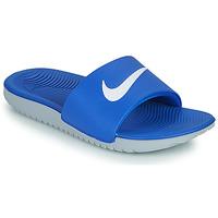 鞋子 儿童 拖鞋 Nike 耐克 KAWA GS 蓝色 / 白色