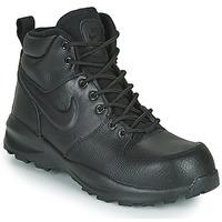 鞋子 儿童 球鞋基本款 Nike 耐克 MANOA LTR GS 黑色
