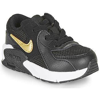 鞋子 儿童 球鞋基本款 Nike 耐克 AIR MAX EXCEE TD 黑色 / 金色