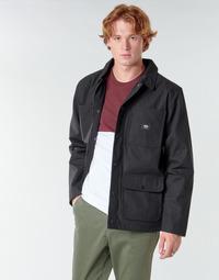 衣服 男士 夹克 Vans 范斯 DRILL CHORE COAT LINED 黑色