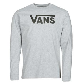 衣服 男士 长袖T恤 Vans 范斯 VANS CLASSIC LS 灰色