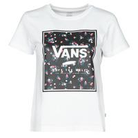 衣服 女士 短袖体恤 Vans 范斯 BOXED IN BOXY 白色