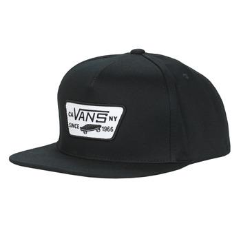 纺织配件 男士 鸭舌帽 Vans 范斯 FULL PATCH SNAPBACK 黑色