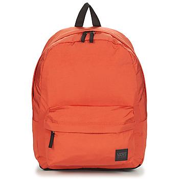 包 女士 双肩包 Vans 范斯 DEANA III BACKPACK 橙色