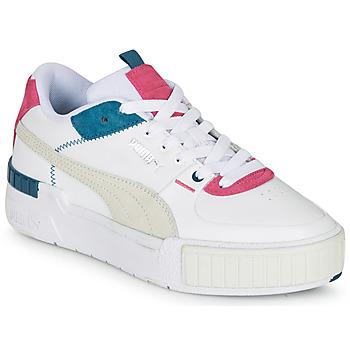 鞋子 女士 球鞋基本款 Puma 彪马 CALI SPORT 白色 / 灰色