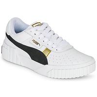 鞋子 女士 球鞋基本款 Puma 彪马 CALI VARSITY 白色 / 黑色