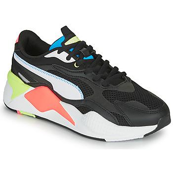 鞋子 球鞋基本款 Puma 彪马 RS-X3 黑色 / 白色 / 珊瑚色