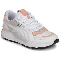 鞋子 女士 球鞋基本款 Puma 彪马 RS-2.0 FUTURA 白色 / 玫瑰色