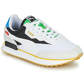 鞋子 球鞋基本款 Puma 彪马 FUTURE RIDER Unity Collection 白色 / 黑色