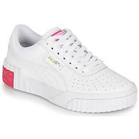 鞋子 女孩 球鞋基本款 Puma 彪马 CALI JR 白色 / 玫瑰色