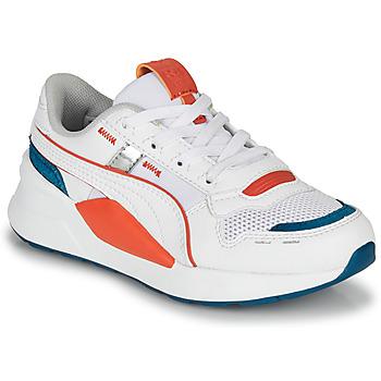 鞋子 儿童 球鞋基本款 Puma 彪马 RS-2.0 TOPS PS 白色 / 蓝色 / 红色